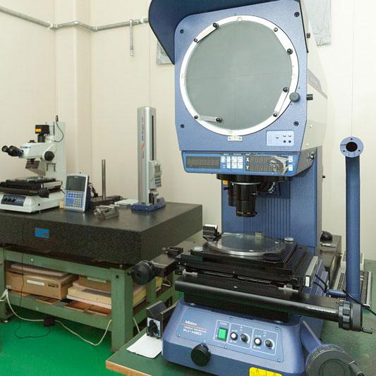 多様な加工品に対応する測定設備
